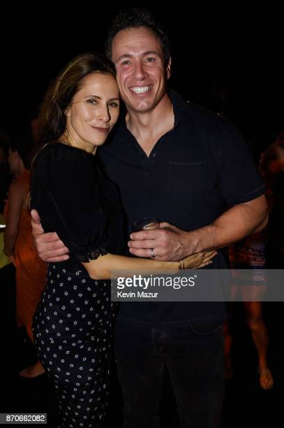 Cristina Cuomo and Chris Cuomo attend the weekend opening of The NEW ultraluxury Cove Resort at Atlantis Paradise Island on November 3 2017 in The...