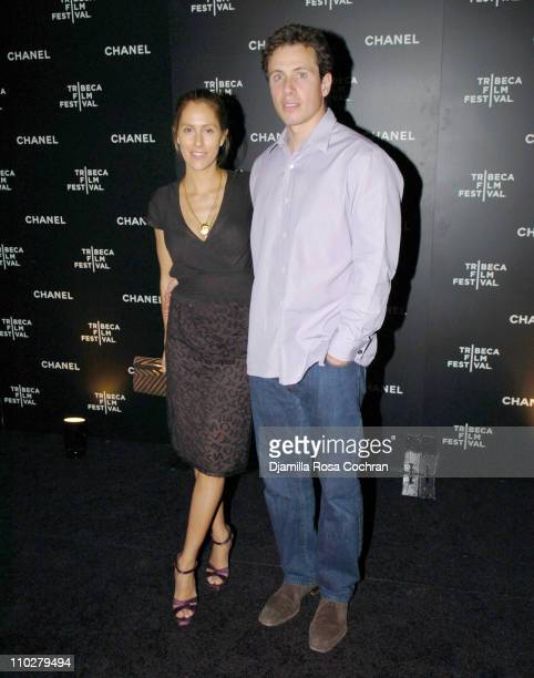 Cristina Cuomo and Chris Cuomo during 5th Annual Tribeca Film Festival - Chanel Dinner at Opening of Mr. Chow Celebrating Artists of the Tribeca Film...