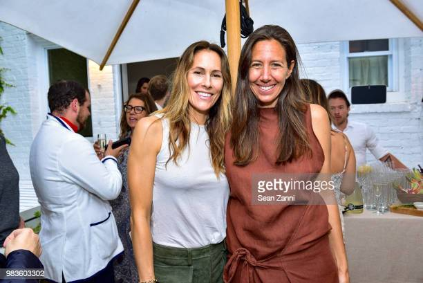 Cristina Cuomo and Gabby Karan de Felice attend Naomi Watts And CoFounders Larissa Thompson and Sarah BrydenBrown Along With Jason Weinberg Host The...
