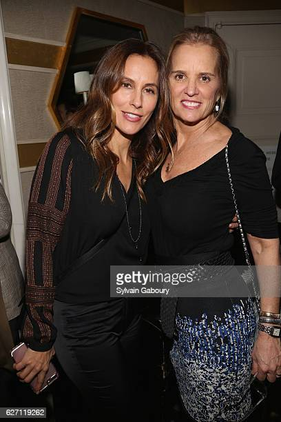 Cristina Cuomo and Kerry Kennedy attend Magnolia Pictures The Cinema Society Host the After Party for Harry Benson Shoot First at The Carlyle on...