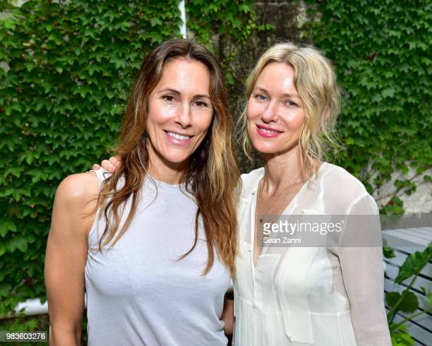 Cristina Cuomo and Naomi Watts attend Naomi Watts And CoFounders Larissa Thompson and Sarah BrydenBrown Along With Jason Weinberg Host The Opening Of...