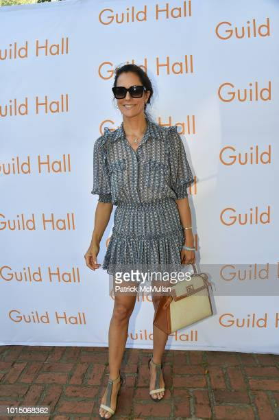 Cristina Cuomo attend the Guild Hall Summer Gala 2018 at Guild Hall on August 10 2018 in East Hampton New York