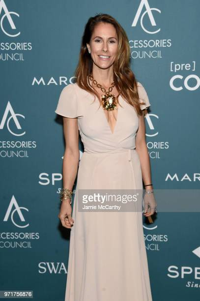 Cristina Cuomo attends the 22nd Annual Accessories Council ACE Awards at Cipriani 42nd Street on June 11, 2018 in New York City.
