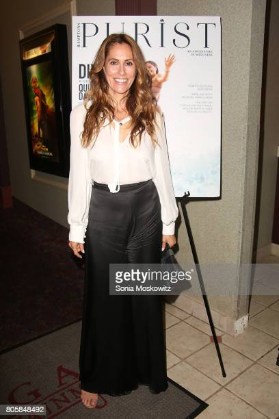 "Cristina Cuomo attends the ""Blind"" Hamptons premiere at UA Southampton Cinemas, hosted by Purist Magazine, on July 2, 2017 in Southampton, New York."