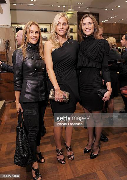 Cristina Cuomo Jamie Tisch and Zani Gugelmann attend Diego Della Valle's Brand Visionary Award celebrated by Barneys at Barneys New York on October...