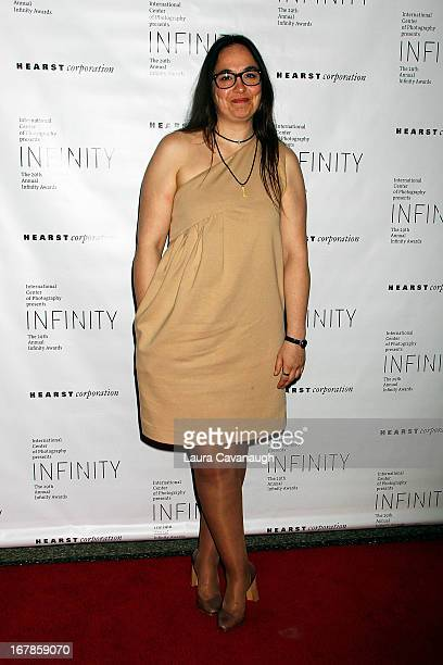 Cristina de Middel attends the 29th annual ICP Infinity Awards at Pier 60 on May 1 2013 in New York City
