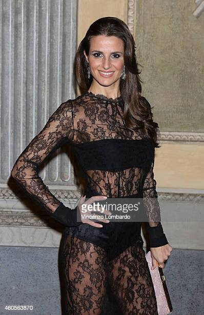 Cristina De Pin attends the Fondazione IEO CCM Christmas Dinner For on December 16 2014 in Monza Italy