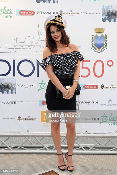 Cristina Del Basso attends the Dionea 50th Anniversary Party on June 2 2012 in Santa Margherita Ligure Italy