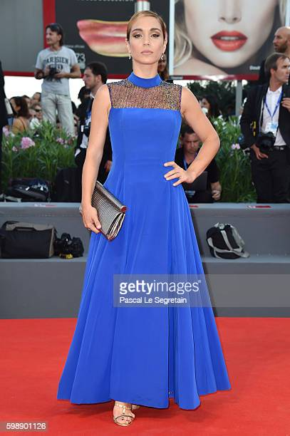 Cristina Dell'Anna attends the premiere of 'The Young Pope' during the 73rd Venice Film Festival at on September 3, 2016 in Venice, Italy.