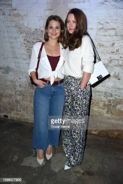Cristina do Rego and Alice Dwyer attend the Pantaflix Pantaparty during 69th Berlinale International Film Festival at Alte Muenze on February 11,...