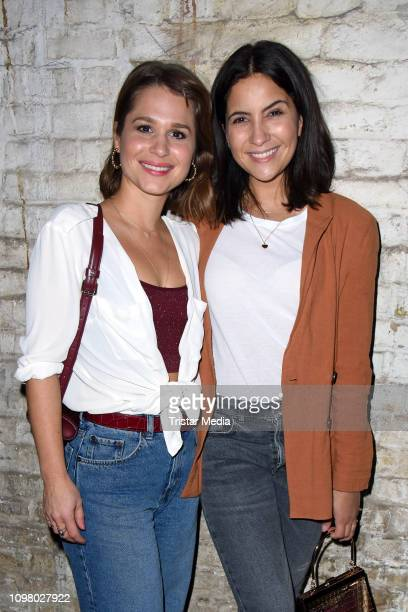 Cristina do Rego and Chryssanthi Kavazi attend the Pantaflix Pantaparty during 69th Berlinale International Film Festival at Alte Muenze on February...