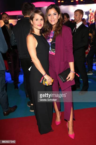 Cristina do Rego and Chryssanthi Kavazi during the 'Tribute To Bambi' gala at Station on October 5 2017 in Berlin Germany