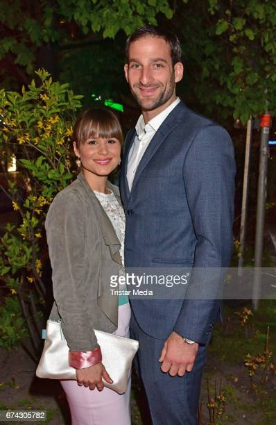 Cristina do Rego and Matthias Weidenhoefer attend the New Faces Award Film at Haus Ungarn on April 27 2017 in Berlin Germany
