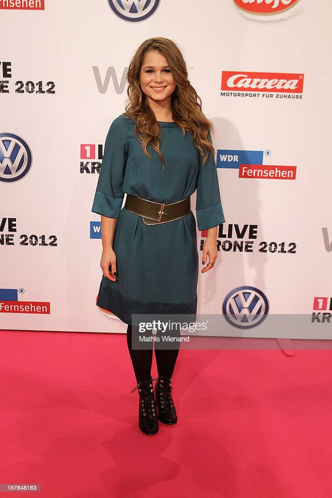 Cristina do Rego attends the '1Live Krone' at Jahrhunderthalle on December 6, 2012 in Bochum, Germany.