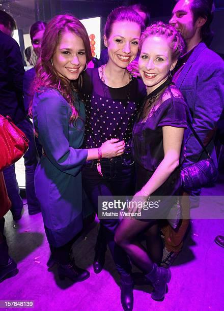 Cristina do Rego Guest and Jasmin Schwiers attend the '1Live Krone' at Jahrhunderthalle on December 6 2012 in Bochum Germany