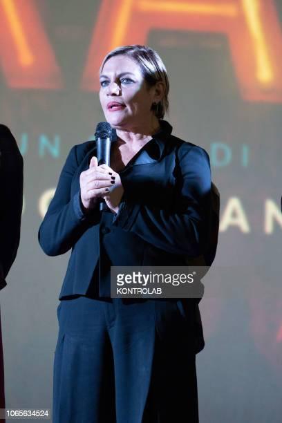 Cristina Donadio at the presentation of the drama 'Il vizio della speranza' directed by Edoardo De Angelis at the Duel Village in Caserta winner of...