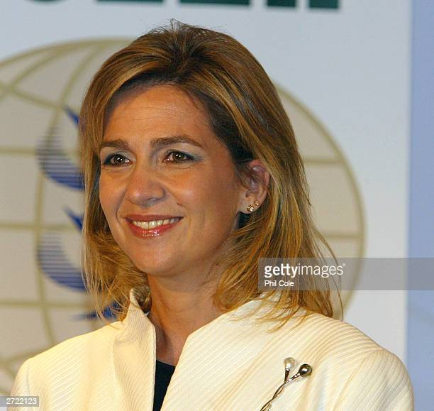 Cristina Duquesa de Palma attends The ISAF Rolex World Sailor of the year awards during an awards ceromony November 12 2003 at the Fira Palace in...