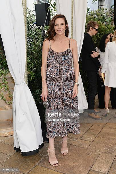 Cristina Ehrlich attends NETAPORTER Celebrates Women Behind The Lens at Chateau Marmont on February 26 2016 in Los Angeles California