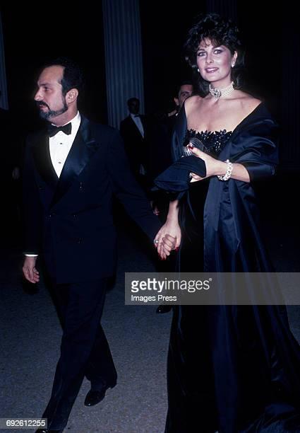 Cristina Ferrare and guest circa 1983 in New York City