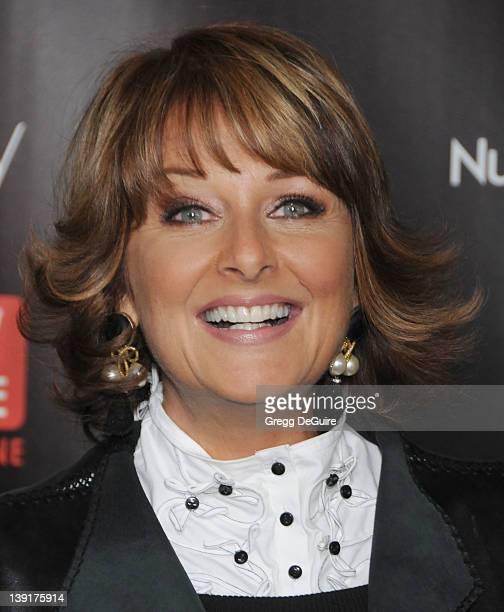 Cristina Ferrare arrives at TV Guide Magazine's 2010 Hot List Party at Drai's at the W Hollywood Hotel on November 8, 2010 in Hollywood, California.