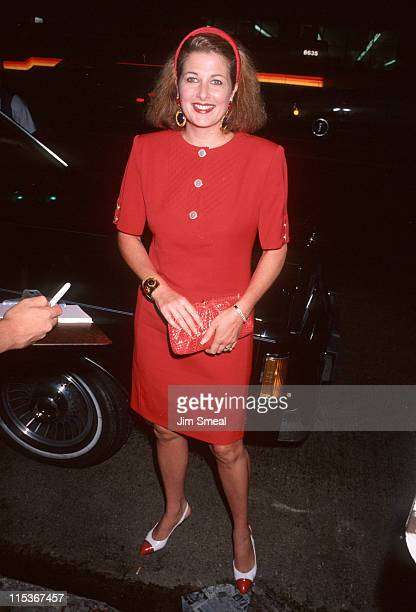 Cristina Ferrare during Commitment To Life IV Los Angeles AIDS Project Benefit September 7 1990 at The Wiltern Theater in Los Angeles California...