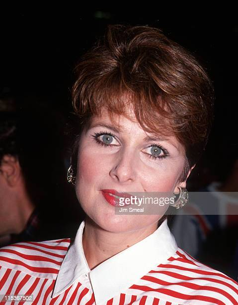 Cristina Ferrare during Screening of Doc Hollywood July 31 1991 at The Academy Theater in Beverly Hills California United States