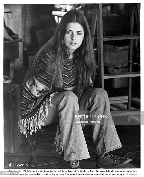 Cristina Ferrare in a scene from the film 'JW Coop' 1971