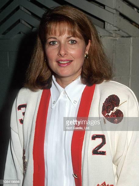 Cristina Ferrare sighting at Spago's Restaurant during Christina Ferrare Sighting at Spago's October 18 1990 in Hollywood California United States