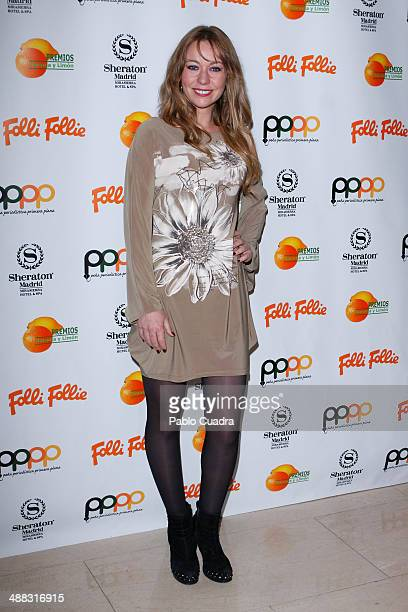 Cristina Goyanes attends Folli Follie Excelence Awards 2014 on May 5 2014 in Madrid Spain