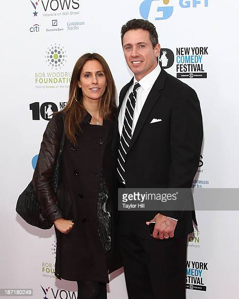 "Cristina Greeven and Chris Cuomo attend the 7th annual ""Stand Up for Heroes"" benefit at The Theatre at Madison Square Garden on November 6, 2013 in..."