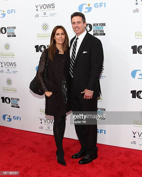 Cristina Greeven and Chris Cuomo attend the 7th annual Stand Up for Heroes benefit at The Theatre at Madison Square Garden on November 6 2013 in New...