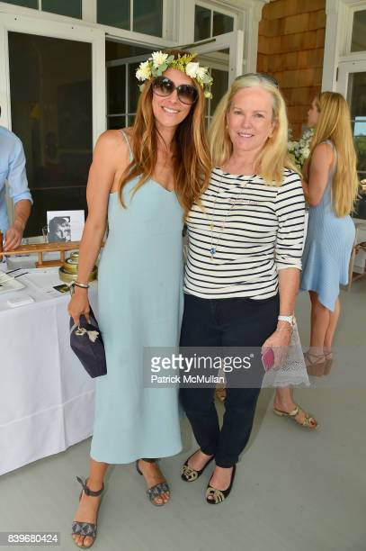 Cristina Greeven Cuomo and Anne Hearst McInerney attend Anne Hearst McInerney and Jay McInerney's celebration of Amanda Hearst and Hassan Pierre's...