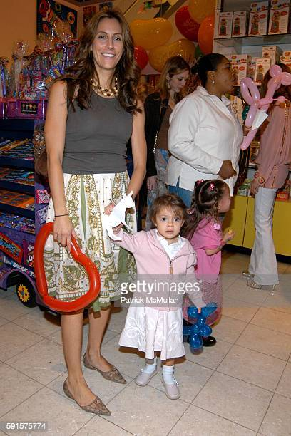 Cristina Greeven Cuomo and Bella Cuomo attend Lenox Hill Neighborhood House's Annual Kids in Candyland Event at Dylan's Candy Bar on May 23 2005 in...