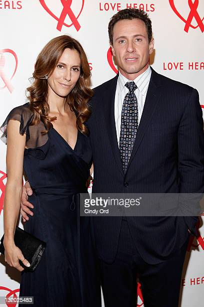 Cristina Greeven Cuomo and Chris Cuomo attend Love Heals, The Alison Gertz Foundation For AIDS Education 20th Anniversary gala at the Four Seasons...