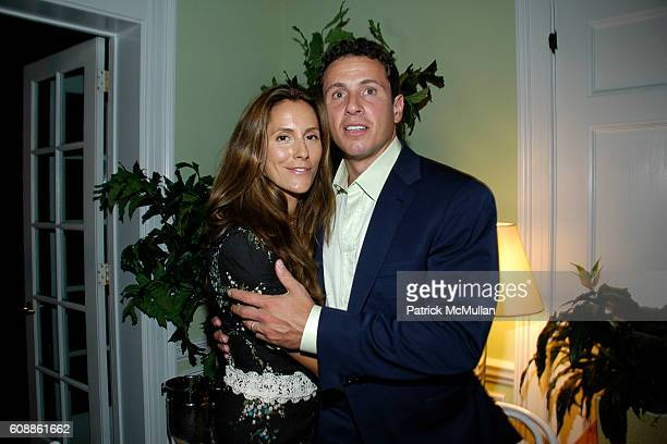 Cristina Greeven Cuomo and Chris Cuomo attend NATURA BISSE Dinner in Honor of Cristina Greeven Cuomo's Ambassadorship of NATURA BISSE skin products...
