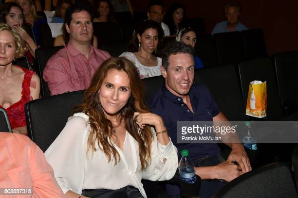 "Cristina Greeven Cuomo and Chris Cuomo attend The Hamptons Premiere of ""Blind"" - Arrivals at UA Southampton Cinemas on July 2, 2017 in Southampton,..."