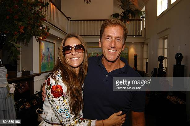 Cristina Greeven Cuomo and Glenn McMahon attend DOLCE GABBANA Benefit Luncheon hosted by Jessica Seinfeld Claude Wasserstein and Stephanie Winston...
