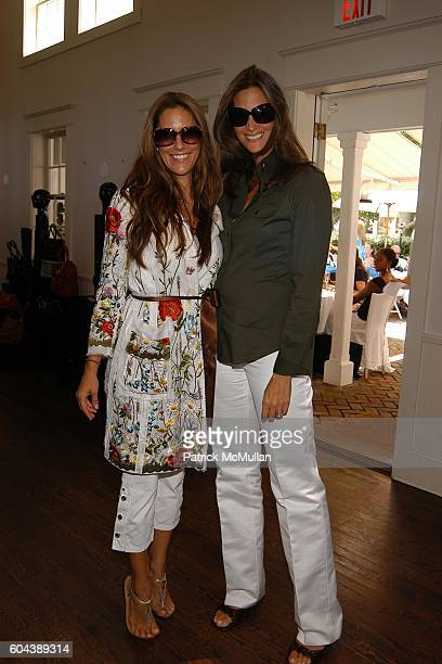 Cristina Greeven Cuomo and Stephanie Winston Wolkoff attend DOLCE GABBANA Benefit Luncheon hosted by Jessica Seinfeld Claude Wasserstein and...