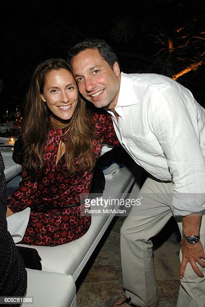 Cristina Greeven Cuomo and Thom Filicia attend GUCCI Cristina Chris Cuomo and Stephanie and David Wolkoff's Midsummer Night's Dinner at The Ross...