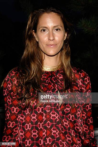 Cristina Greeven Cuomo attends GUCCI Cristina Chris Cuomo and Stephanie and David Wolkoff's Midsummer Night's Dinner at The Ross School on July 21...