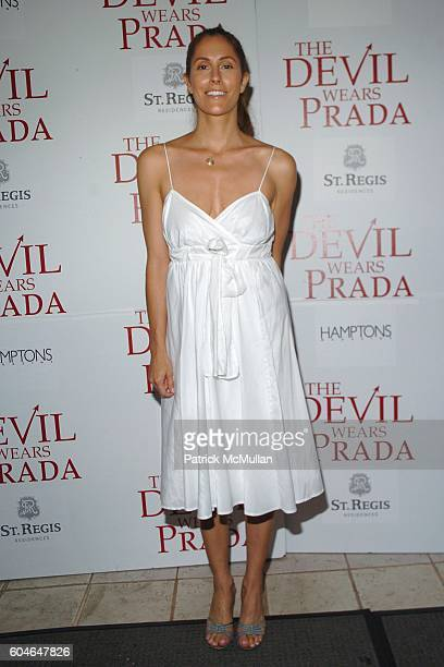 Cristina Greeven Cuomo attends Special Screening of 20th Century Fox's The Devil Wears Prada at Southampton Theater on June 24 2006 in Southampton NY