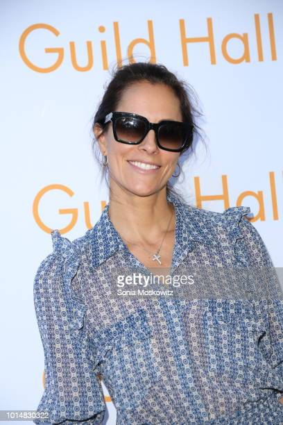 Cristina Greeven Cuomo attends the 2018 Guild Hall Summer Gala on August 10 2018 in East Hampton New York