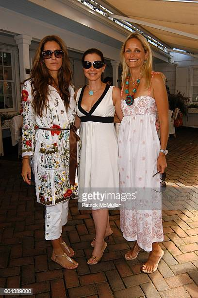 Cristina Greeven Cuomo Bettina Zilkha and Heather Mnuchin attend DOLCE GABBANA Benefit Luncheon hosted by Jessica Seinfeld Claude Wasserstein and...