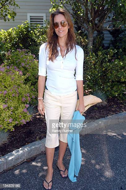 Cristina Greeven Cuomo during Pirelli Watches and Hamptons Magazine Golf Classic at Hampton Hills Golf and Country Club in West Hampton New York...