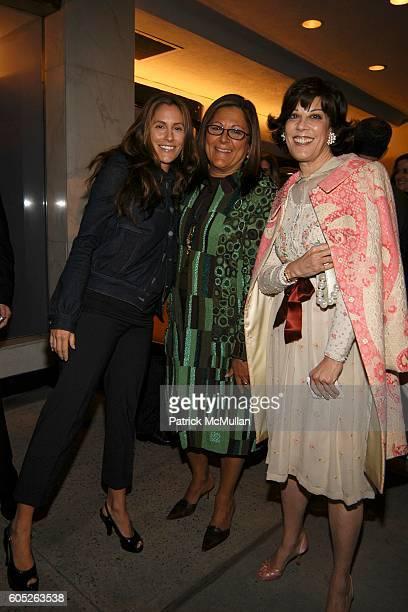 Cristina Greeven Cuomo Fern Mallis and Peggy Siegal attend Twentieth Century Fox presents THE DEVIL WEARS PRADA Screening at Paris Theatre on May 23...