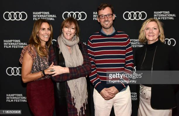 """Cristina Greeven Cuomo Jane Rosenthal David Nugent and Anne Chaisson attend during """"The Irishman"""" Reception at the 2019 Hamptons International Film..."""
