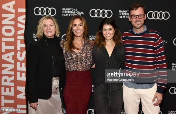 """Cristina Greeven Cuomo Jane Rosenthal David Nugent and Anne Chaisson attend """"The Irishman"""" Reception at the 2019 Hamptons International Film Festival..."""