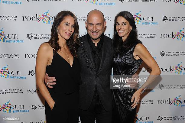 Cristina Greeven Cuomo, John Varvatos and Joyce Zybelberg Varvatos attend the 'Samuel Waxman Cancer Research Foundation Presents Collaborating For A...