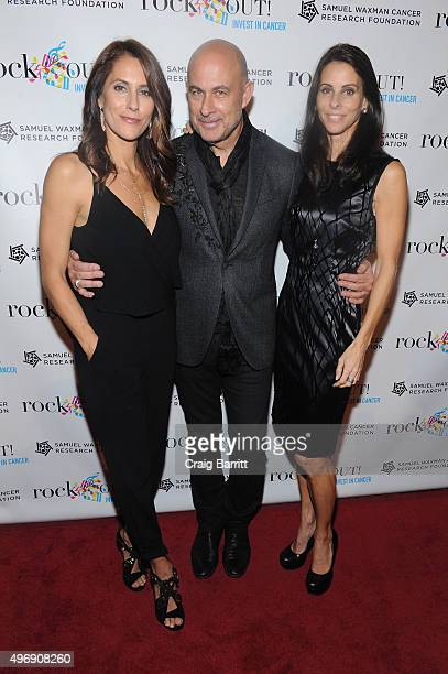 Cristina Greeven Cuomo John Varvatos and Joyce Zybelberg Varvatos attend the 'Samuel Waxman Cancer Research Foundation Presents Collaborating For A...