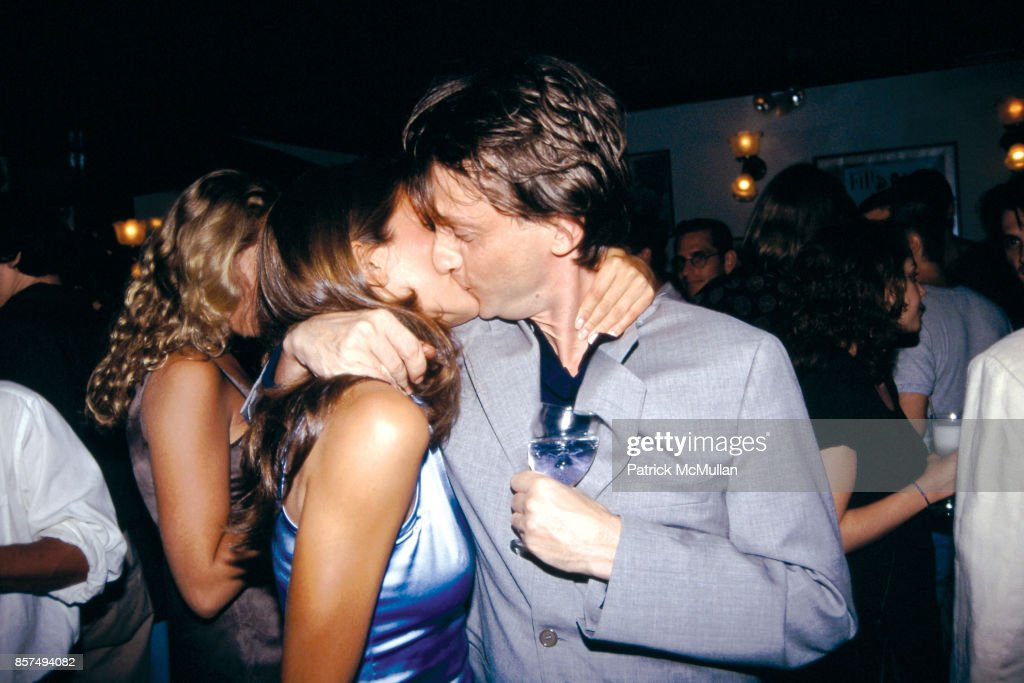Cristina Greeven, James Truman Manhattan File Party Le Colonial August 21, 1995 : News Photo